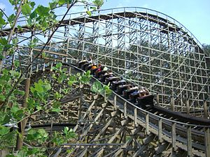 Thunderhead (roller coaster) - Image: Thunderhead (Dollywood) 03