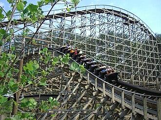 Thunderhead (roller coaster) - Image: Thunderhead (Dollywood) 03