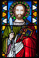 Thurles Cathedral Ambulatory Window 05 Saint Thomas Detail 2012 09 06.jpg