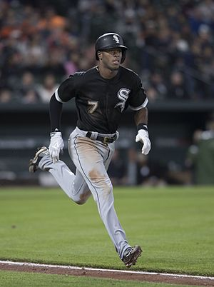 Tim Anderson (baseball) - Anderson with the Chicago White Sox