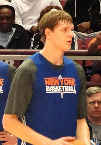 Timofey Mozgov - Mozgov as a member of the Knicks