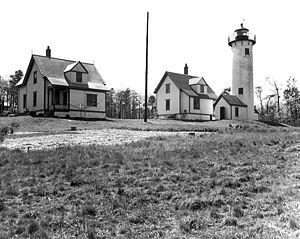 Tisbury, Massachusetts - The Lighthouse of Tisbury (West Chop Light) in 1891