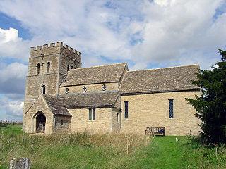 Tixover village in the United Kingdom