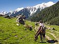 Tiya on Pony Trek from Aru to Lidderwat (14391496017).jpg