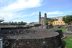 Tlatelolco (archaeological site) - View of site from southwest corner