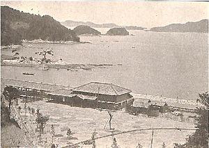 Toba Station - Toba Station in 1911