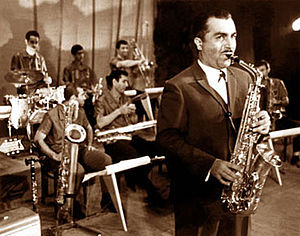 Azerbaijani jazz - Tofig Ahmadov in the 1940s.