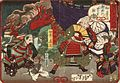 Tokugawa Ieyasu Examining the Head of Kimura Shigenari at the Battle of Osaka Castle LACMA M.84.31.330.jpg
