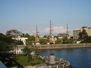 Meiji Maru - Image: Tokyo UMST Etchujima 02