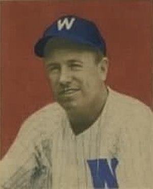 Tom McBride (baseball) - McBride's 1949 Bowman Gum baseball card