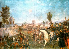 Siege of Arequipa, 1856, Marshal Ramon Castilla enters Arequipa to gain back control of the city from the armies of General Vivanco.