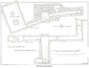 Tomb ANB - Image: Tomb AN B in Dra Abu el Naga