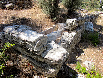 Amos (ancient city) - Tomb at the necropolis.