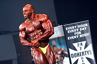 Toney Freeman American IFBB bodybuilder