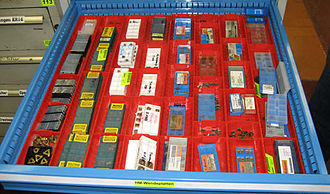 Tool management - Tool Components on stock.