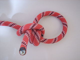 Taut-line hitch hitch knot