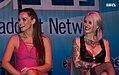 Tori Black and Kleio Valentien in Exxxotica Atlantic City 2014 ExxxAC2014 193bas (14503586033).jpg