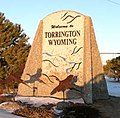 Torrington, Wyoming - Welcome sign.jpg