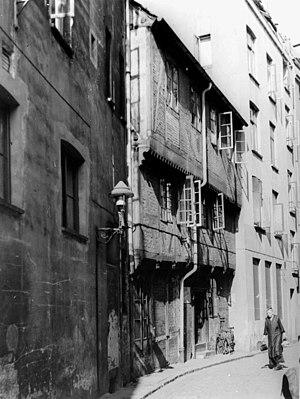 Torstraße um 1938