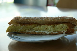 Bocadillo Type of sandwich