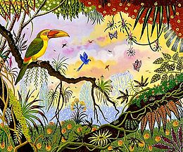 Toucan de Baillon femelle