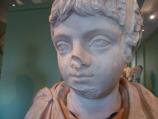 Bust of Geta as a child Ra 62