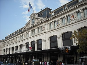 Gare de Toulouse-Matabiau - Main entrance of Matabiau station