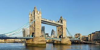 Tower Bridge - Tower Bridge from Shad Thames