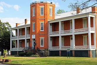 Camden Expedition Sites National Historic Landmark - Image: Tower Building of the Little Rock Arsenal