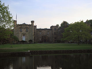 Towneley Park country house and park with art gallery and museum in Burnley, Lancashire, England