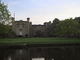 Towneley Park - Towneley Hall from the front