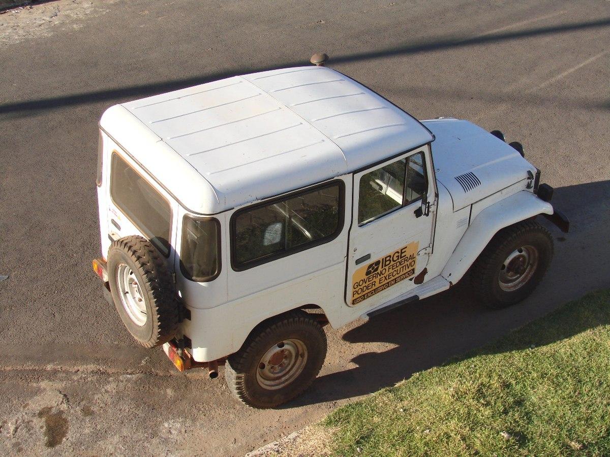 Diesel Jeep Wrangler >> Toyota Bandeirante – Wikipédia, a enciclopédia livre