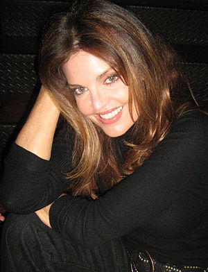Tracy Scoggins - Tracy Scoggins in April 2008