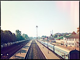 Train Station (Ivano-Frankivsk) trains2.jpg