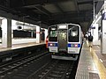 Train for Fukuma Station at Hakata Station.jpg
