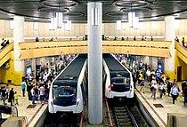 Trains at Piata Victoriei.jpg