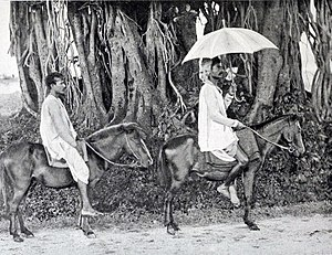 Grand Trunk Road - Image: Travelling on the Grand Trunk Road, Riding a native TAT (Pony)