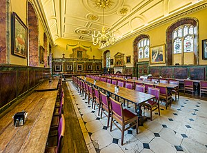 Trinity College, Oxford - The Dining Hall