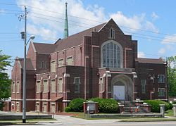 Trinity United Methodist (Orangeburg SC) from SE 2.JPG