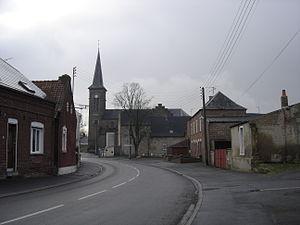 Troisvilles - Image: Troisvilles village