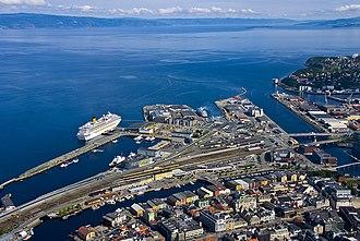 Brattøra - View of the island
