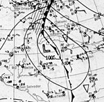 Tropical Storm Five surface analysis October 14 1922.jpg