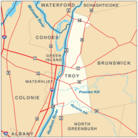 Troy, New York Map.png