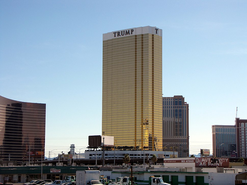 Trump hotel Las Vegas 2009