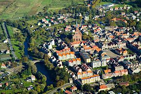 Trzebiatow Old Town bird's-eye view 2007-10b.jpg
