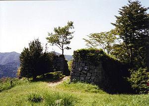 Tsuwano Domain - The remains of Tsuwano Castle