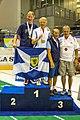 Turin, Italy…2013 WMG medal presentations…Open MD 65…1st David & Colin, 3rd Daniel & Knut (10831294743).jpg