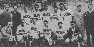 History of Turkish football - Turkey national football team squad in 1929.