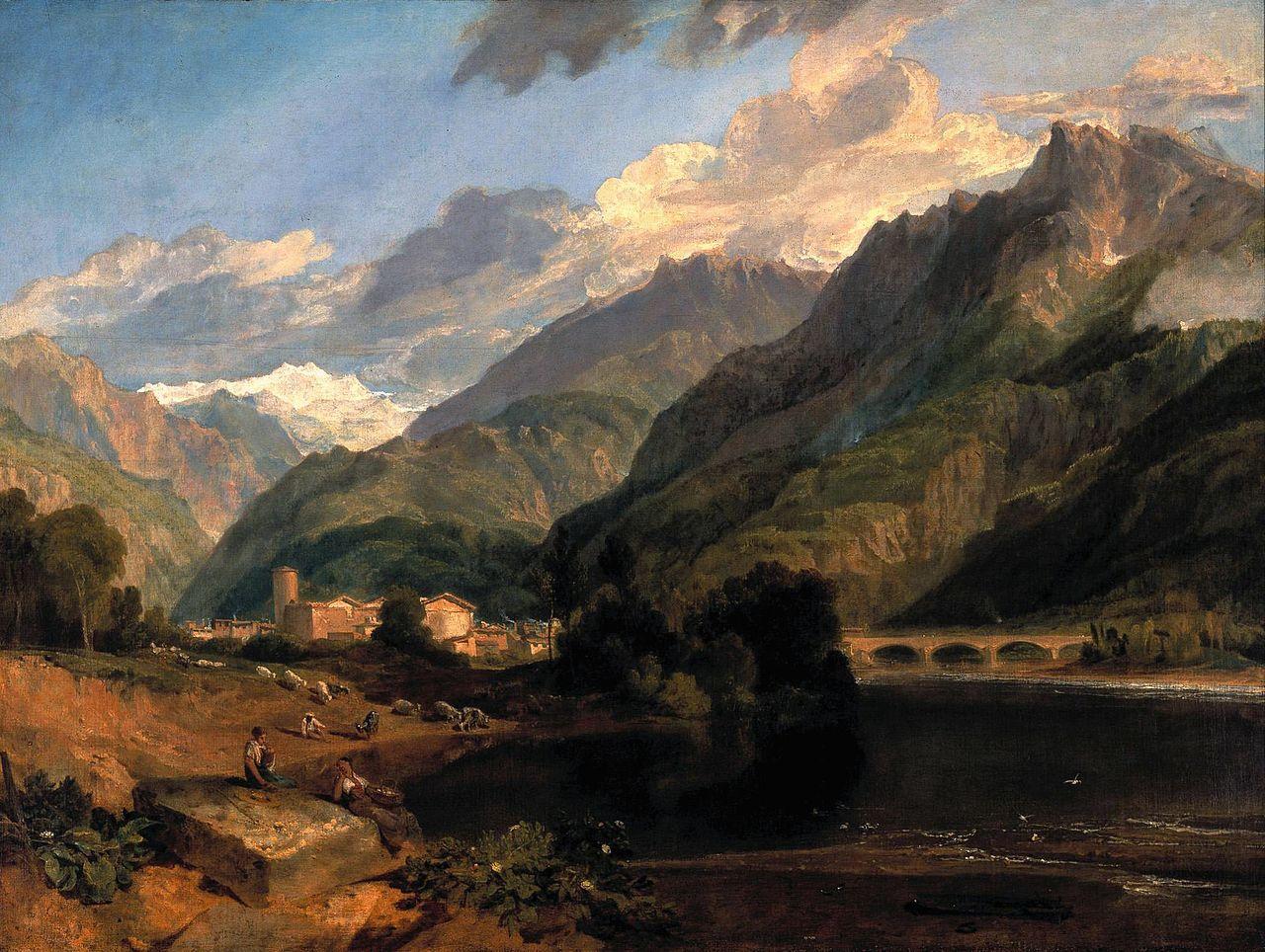 约瑟夫·马洛德·威廉·特纳RA英国画家Joseph Mallord William Turner, RA ( British 1775 –  1851) - 文铮 - 柳州文铮
