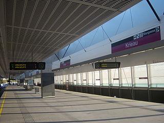 Krieau (Vienna U-Bahn) Vienna U-Bahn station